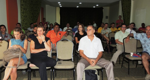 50 people attended the event organized by CCTT at the Diria.