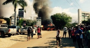 Devastating fire rips through Tamarindo landscape