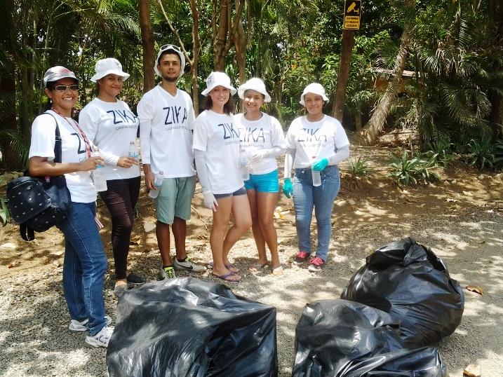 Nota 2 Eliminan 1,3 toneladas de desechos contra dengue TN junio 2016